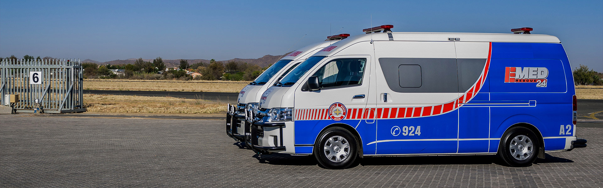 Fully Medically Equipped Road Ambulance Services